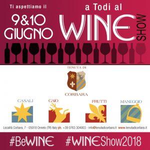 Wine Show a Todi – 9/10 giugno