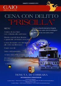 Cena con Delitto Priscilla